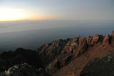 Top of Volcano, Rinjani, Lombok - Indonesia