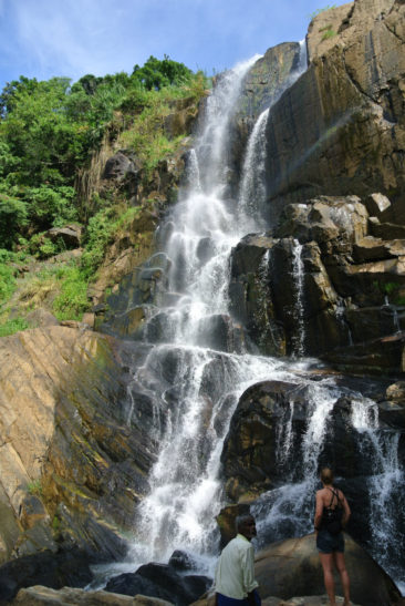 Waterfall in Ella - Sri Lanka
