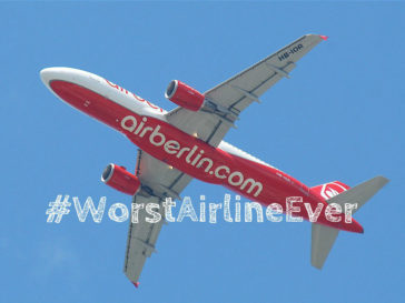 Air Berlin is the worst airline ever - layback travel