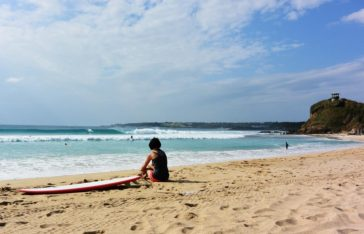 Surfing in Taiwan - Nanwan Beachbreak near Kenting - Laybacktravel
