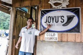 John - co owner of Joyus Cafe, Aceh, Sumatra