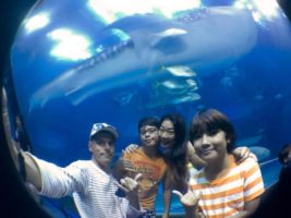 Family Gillett from Splash Guest House - Hebara Japan