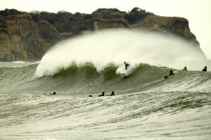 Hebara Main Point Surf Spot in Chiba Japan