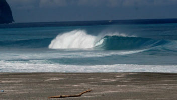 Wave in Nijima Japan by Dane Gillett