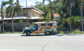 Jeepneys - local buses in the Philippines