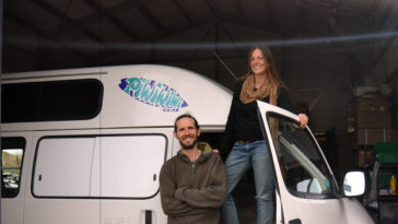 Anna Niall PiwiWiwi Campervan New Zealand - Layback Travel