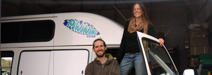 Anna & Niall – Surf Campervan New Zealand
