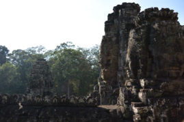 Faces of Angkor Thom Cambodia Layback Travel