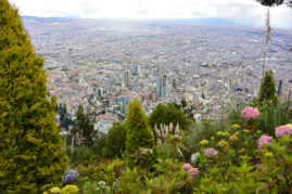 View of Bogota, Colombia - Layback Travel
