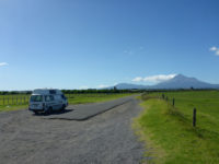 Campervan Taranaki, Mount Egmont, New Zealand - Layback Travel