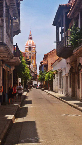 Streets of Cartagena, Colombia - Layback Travel