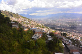 View over Medellin