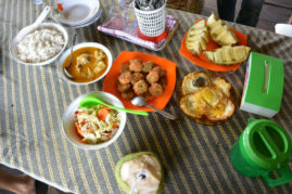 Local food, Sumatra, Indonesia - Layback Travel