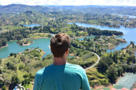 View over Guatape, Colombia - Layback Travel