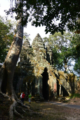 Gate near Angkor Thom Siem Reap Cambodia Layback Travel