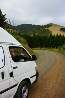 Happy Camper in New Zealand - Layback Travel
