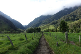 Hiking near Salento, Colombia - Layback Travel