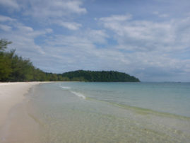Beach at Koh Rong - Sihanoukville Cambodia Layback Travel