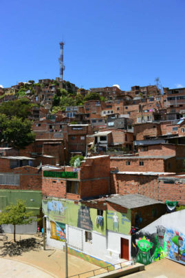 Favela in Medellin, Colombia - Layback Travel