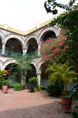 Monastry in Cartagena, Colombia - Layback Travel