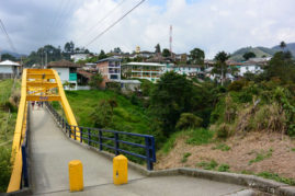 Bridge Salento, Colombia - Layback Travel