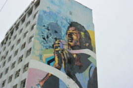 Street art in Cartagena