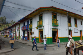 Streets of Salento, Colombia - Layback Travel