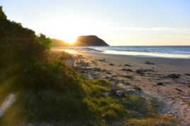 Sunrise at Gisborne, New Zealand - Layback Travel