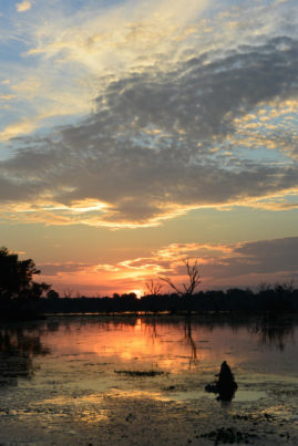 Sunset @ Bakong Angkor Cambodia Layback Travel
