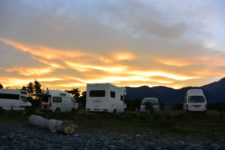 Sunset Kaikoura, New Zealand - Layback Travel