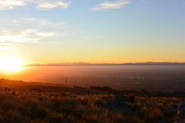 Sunset over Christchurch, New Zealand - Layback Travel