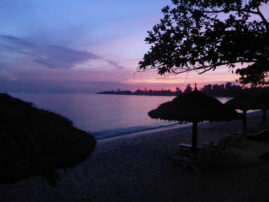 Sunset Sihanoukville Cambodia Layback Travel