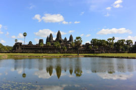 Classic picture of Angkor Wat