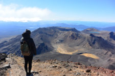 View from Top of Mount Ngauruhoe, New Zealand - Layback Travel