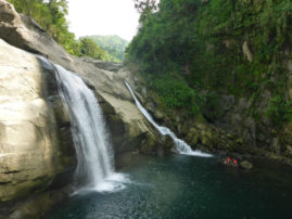 Waterfall near San Juan La Union Philippines Layback Travel