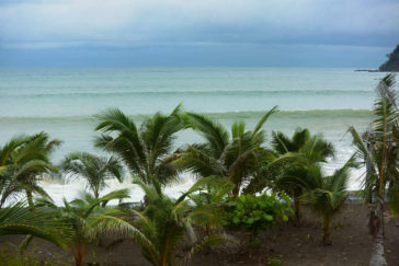 Waves and Surfing in Guanico, Panama - Layback Travel