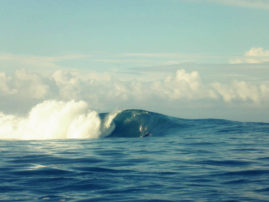 Wave at Samoa