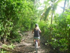 Biking in Puerto Viejo