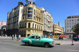 Parque central Havana, Cuba - Layback Travel
