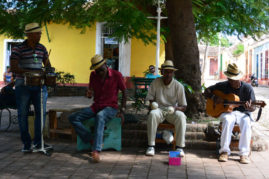 Street Musicians in Trinidad , Cuba - Layback Travel