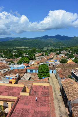View over Trinidad, Cuba - Layback Travel