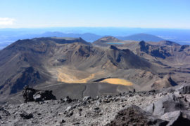 View from top of Mount Ngauruhoe - New Zealand - Layback Travel