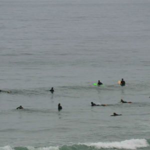 Blacks is a popular surf break